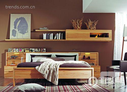 床头板带储物