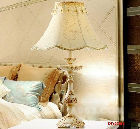 奢华欧式台灯