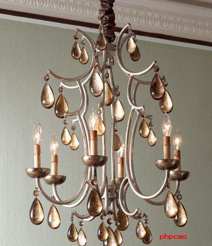 欧式客厅吊灯 欣赏古典奢华