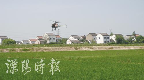 农用直升飞机防治病虫害